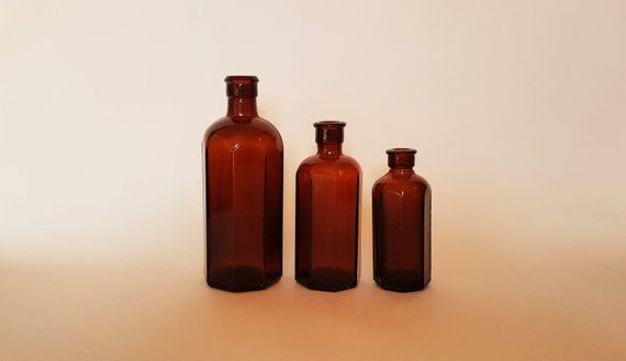 Item Brown Glass Bottles Amber Glass Bottles Medicine Bottle