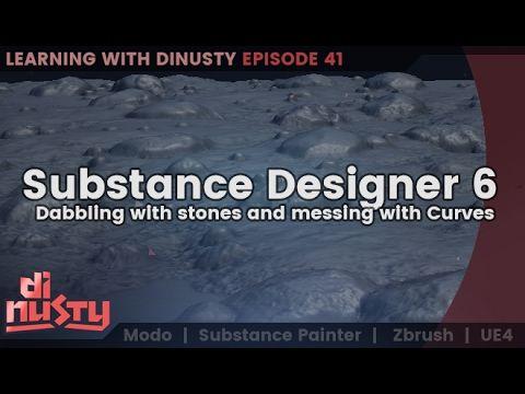 Substance Designer 6 Dabbling [EP41]