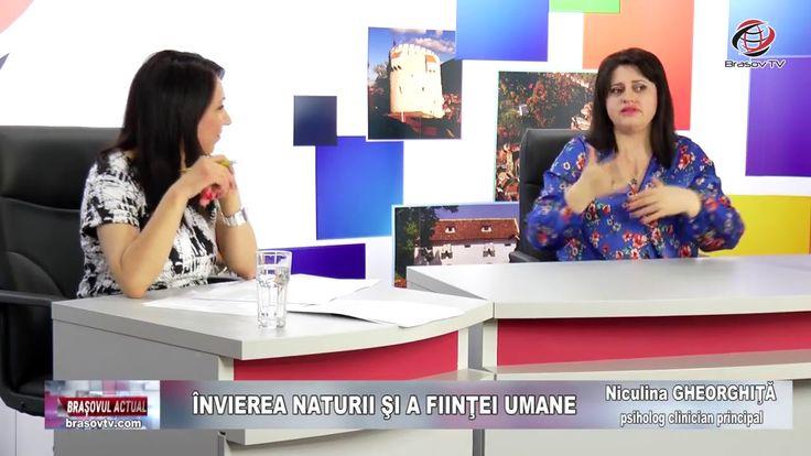 """""""Învierea naturii și a ființei umane"""", Brașovul Actual, 09.04.2018, Nicu..."""