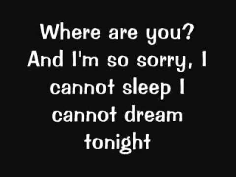 Blink 182 - I Miss You (Lyrics)  Listened to this song today. Seriously one of my favorite songs ever.
