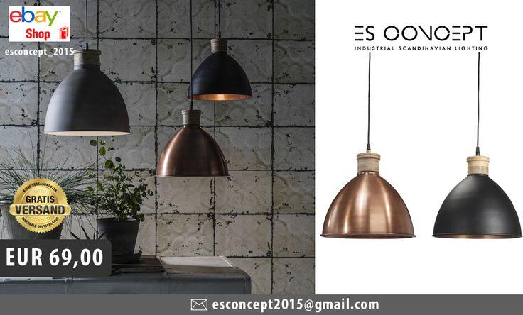 HÄNGELAMPE ROSEVILLE AUS KUPFER  ROSEVILLE ist eine Kollektion von Lampen, die den Schwere des Metalls mit der Natürlichkeit des Holzes verbinden. Die Spitze der Lampe wurde aus Holz hergestellt und der Schirm wurde in schwarz gemalt.  Diese Lampe wertet jeden Raum auf.  Merkmale:  Durchmesser: 32 cm  Kabel: 1,2 m Höhe: 31 cm Technische Daten: E27 max 40W  #lampe #leuchte #beleuchtung #deckenlampe #wandlampe #wandleuchte #hängelampe