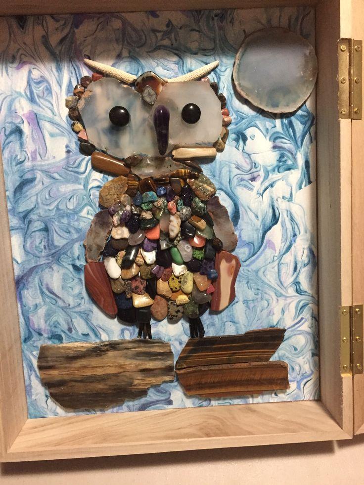 Owl Precious Stones