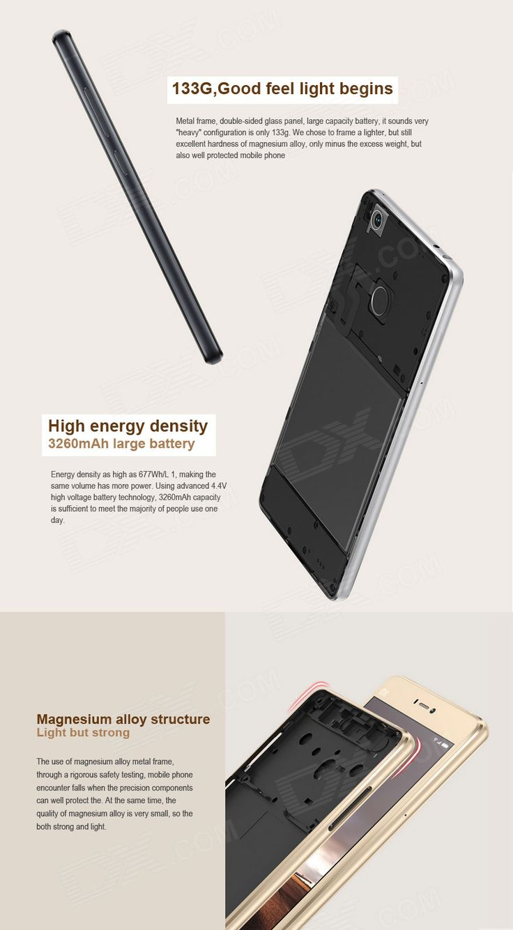 "Xiaomi 4S Snapdragon 808 Hexa-Core 4G 5.0"" Phone w/ 3GB RAM, 64GB ROM - Free Shipping - DealExtreme"