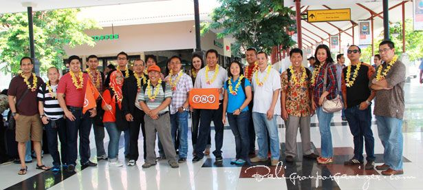 TNT Express, Bali, Group, Airport, Arrival