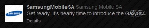Samsung Galaxy S IV - confermata la numerazione romana