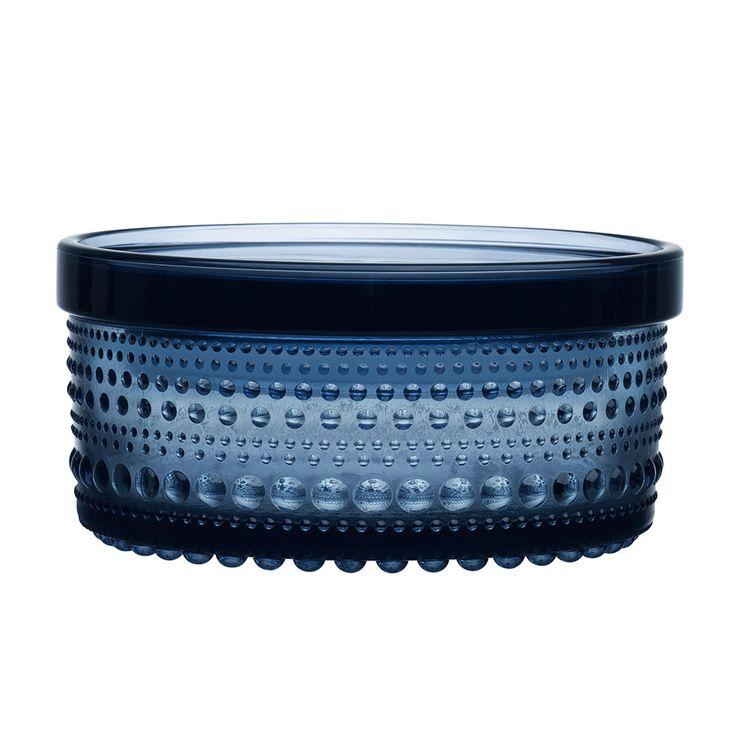 Kastehelmi Purkki 5,7x11,6cm, Sade - Oiva Toikka - Iittala - RoyalDesign.fi