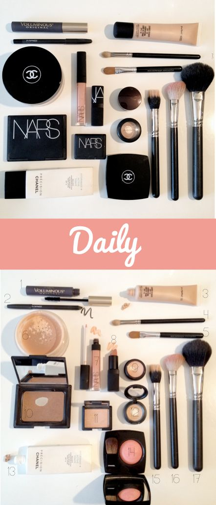 """The best makeup to achieve a clean, natural, everyday, look. """"The Doctor's Closet"""" Blog."""