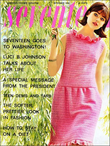 Seventeen Magazine Sept 1964 Colleen Corby by AngoraSox, via Flickr