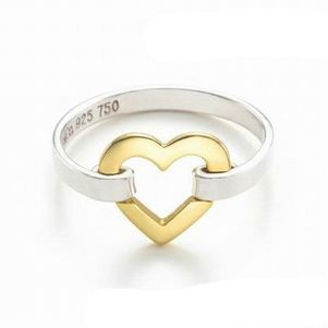 Tiffany  Co Outlet Colou Separatio Heart Ring