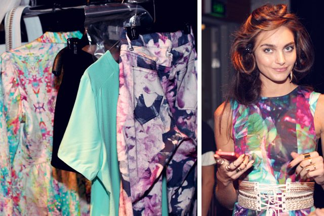 Snaps from 2013 Sydney Fashion Week with label Talulah - backstage pass - www.threadsandstyle.com.au