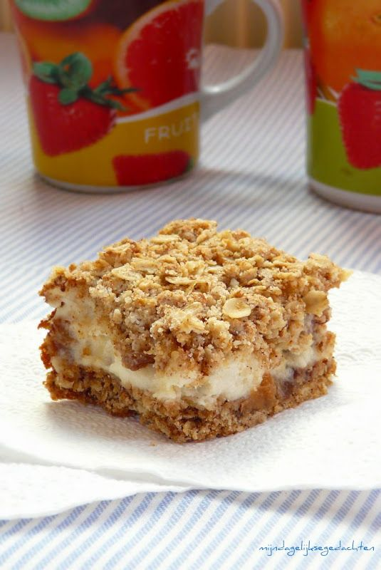"Oatmeal Bars with Yogurt | ""Cooking Easy"""