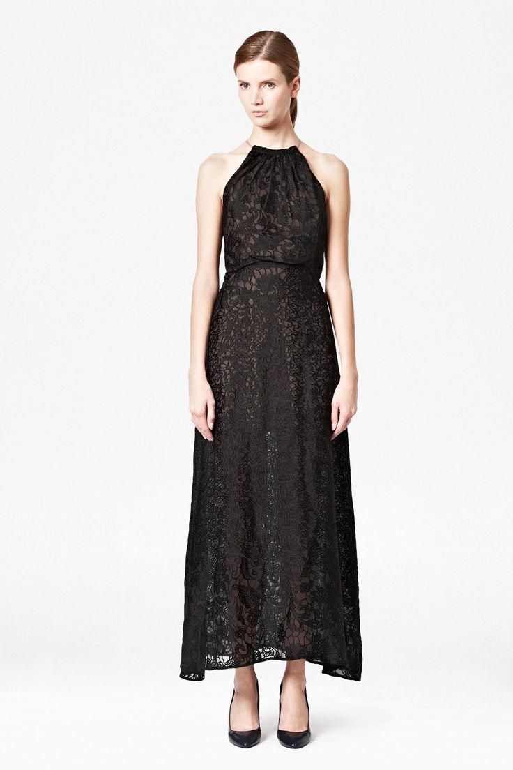 Cora Devore Halter Maxi Dress - Sale - French Connection