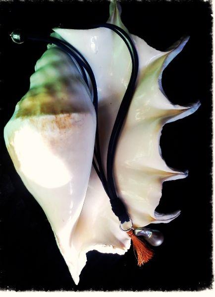 Μοναδικο μαργαριταρι, 3.5 εκ.γκρι silver, barogue southsea. | myartshop