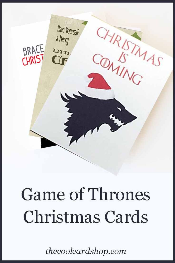 Game of Thrones Christmas Cards