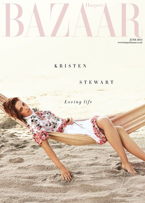 Kristen Stewart Harper's Bazaar UK June cover - interview and pictures | Harper's Bazaar