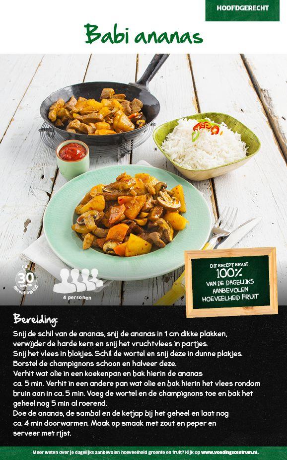 Recept voor Babi ananas #Lidl