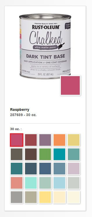 rustoleum paint color chartBest 25 Rustoleum chalk paint ideas on Pinterest