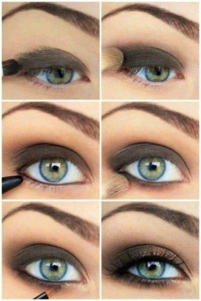 Perfect Smokey Eye looks so good on people with gorgeous eyes...