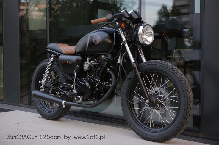 Ogar 125 ccm Son of a Gun -  by Unikat Motorworks custom garage.