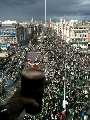 St.Patrick's Day in Dublin, Ireland