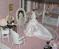 miniature dollhouse brides | to miniature projects Mini weddings on blogs Groups about miniatures ...