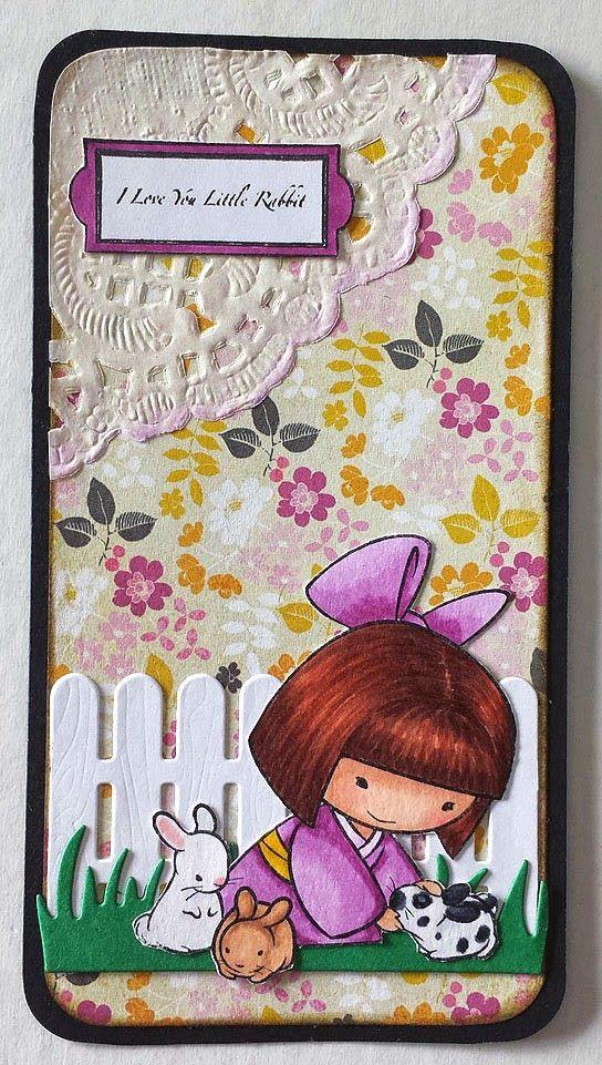 Mayumi in Scrapland: Punto de libro I love you little rabbit
