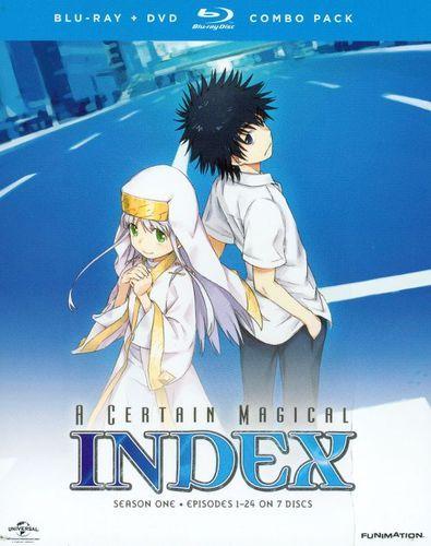 A Certain Magical Index: Season One [7 Discs] [Blu-ray/DVD]