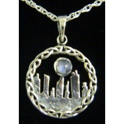Outlander inspired Standing Stones in Moonlight Pendant from Things Celtic. (MORE ON: Costumes, Videos, Merchandise, BTS Board.)