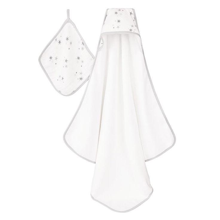 hooded-towel-muslin-washcloth-stars-grey