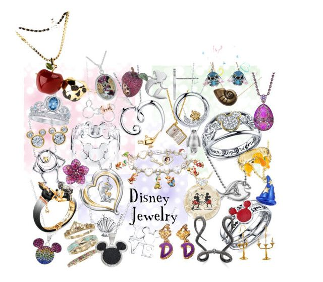 """Disney Jewelry"" by sugarsop on Polyvore featuring Disney, The Bradford Exchange, Alex Woo, Belk Silverworks, NEST Jewelry, disney and jewelry"