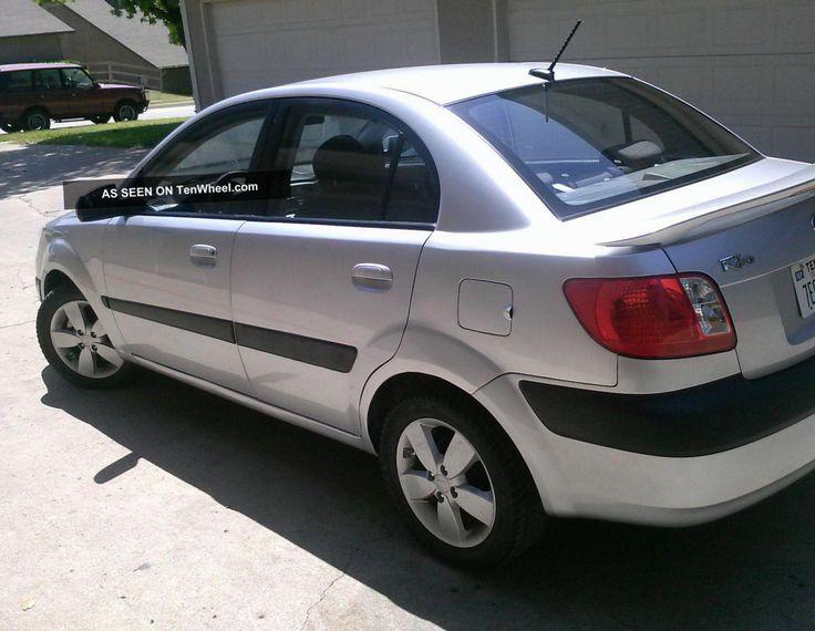KIA Rio Sedan Specifications - http://autotras.com