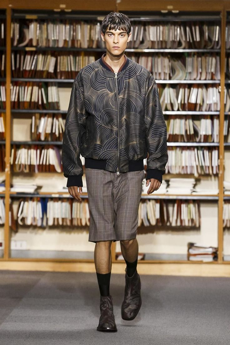 Dries Van Noten Fashion Show Menswear Spring Summer 2018 Collection