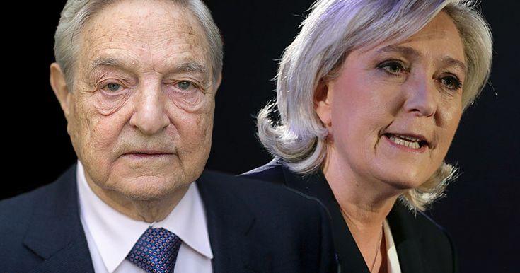 ÉTATS-UNIS : GEORGE SOROS FINANCE GOOGLE POUR ARRÊTER MARINE LE PEN