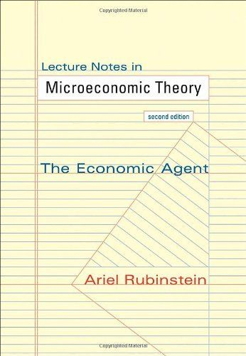 Lecture Notes in Microeconomic Theory: T