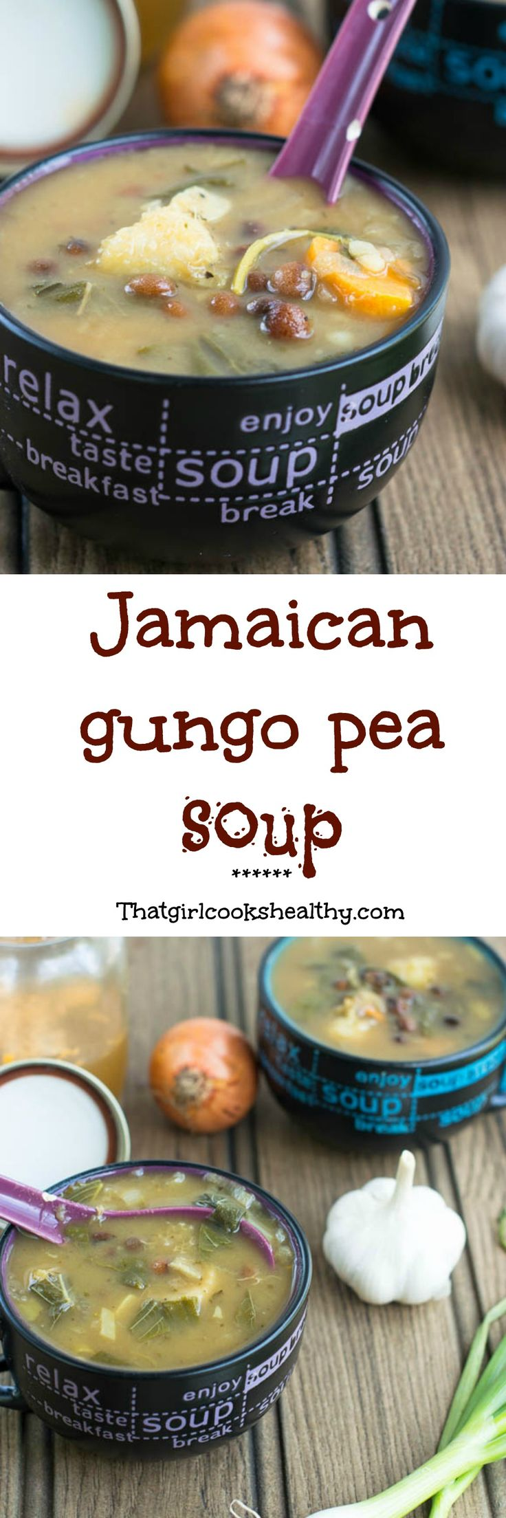 Light and hearty Jamaican gungo peas soup - a copy cat version that's vegan styleDuring the summer period soup is probably the last thing on your mind. I know when I'm feeling hot and sweaty (excuse the gross description) the last thing on my mind is to consume something that's hot - are you cra