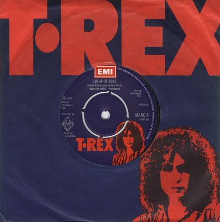 T Rex Tyrannosaurus Rex Light Of Love Uk 7 Quot Vinyl Single