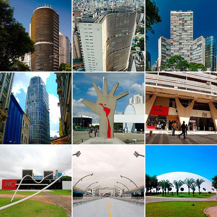 A Arquitetura Da Cidade De São Paulo é Marcada Pelas Obras De Oscar Niemeyer,  Como