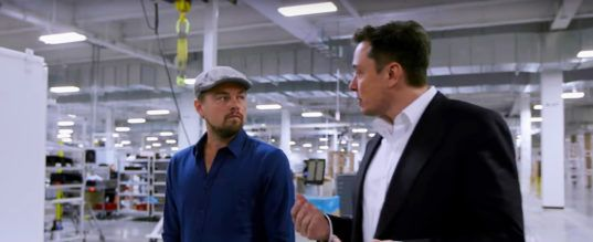 Elon Musk and Leonardo DiCaprio discuss climate issues in Before the Flood documentary | Inhabitat - Green Design, Innovation, Architecture, Green Building