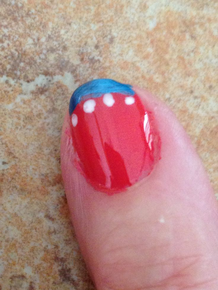 Fourth of July nails :)