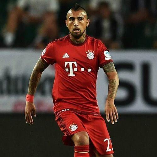 En su primera temporada con el Bayern Arturo Vidal ha marcado...