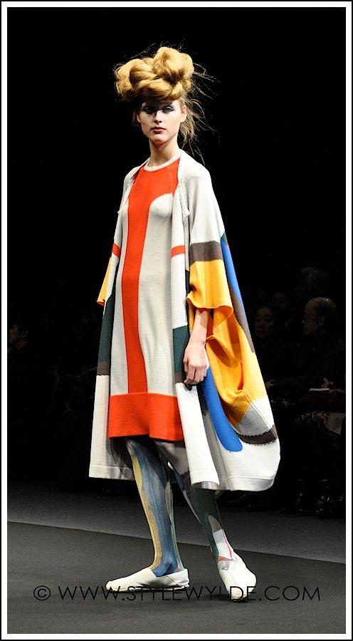 stylewylde.com - Fashion - Fashion feature: Hiroko Koshino Fall 2012