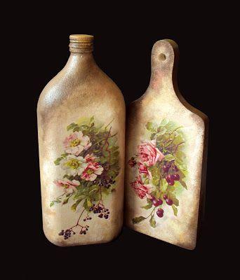 MonaDecu: Kwiatowa butelka