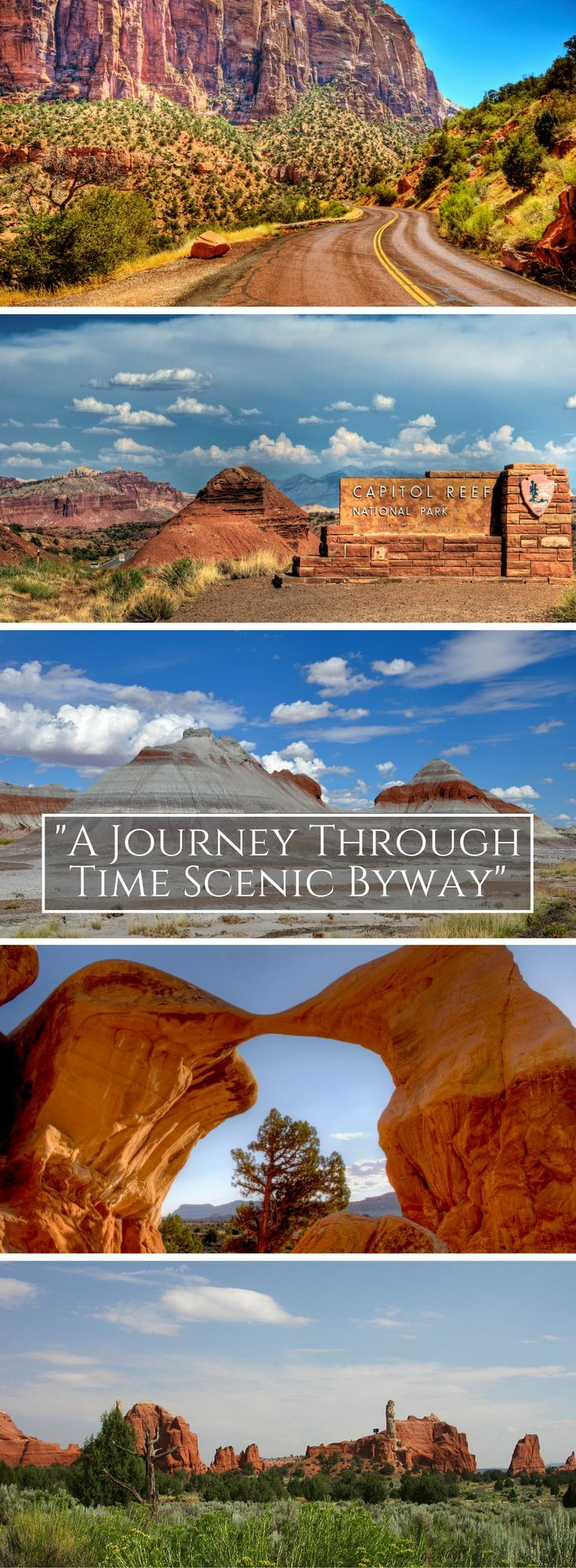 """Highway 12 is called """"A Journey Through Time Scenic Byway"""" 