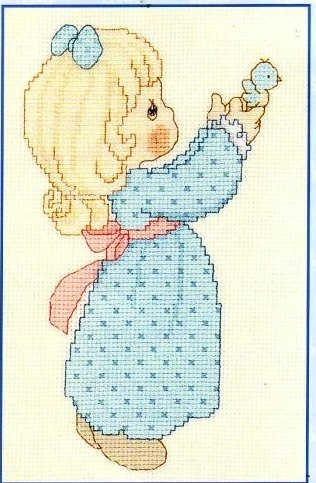 Precious Moments cross stitch