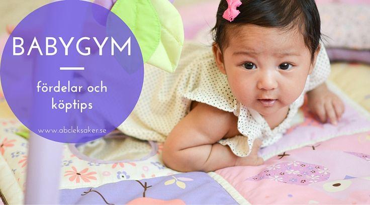 ABC Leksakers Blogg - 3 fördelar med ett babygym