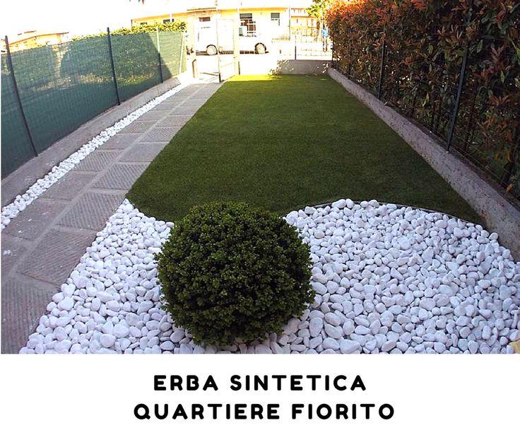 Oltre 25 fantastiche idee su erba sintetica su pinterest - Erba artificiale per giardini ...