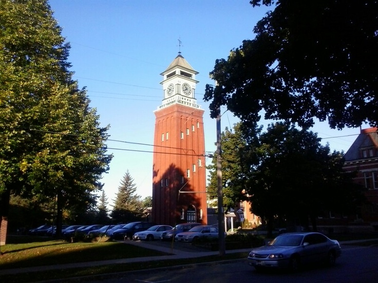 Clock Tower Gananoque Ont. CANADA