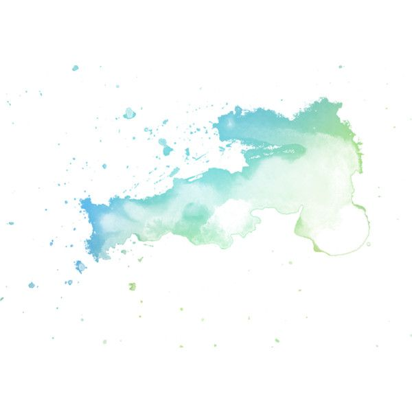 watercolor splashes ❤ liked on Polyvore