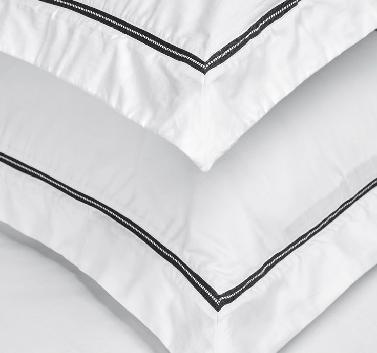 Parure housse de couette Capri 120 fils en coton Bio avec taie(s) d'oreiller | King of Cotton