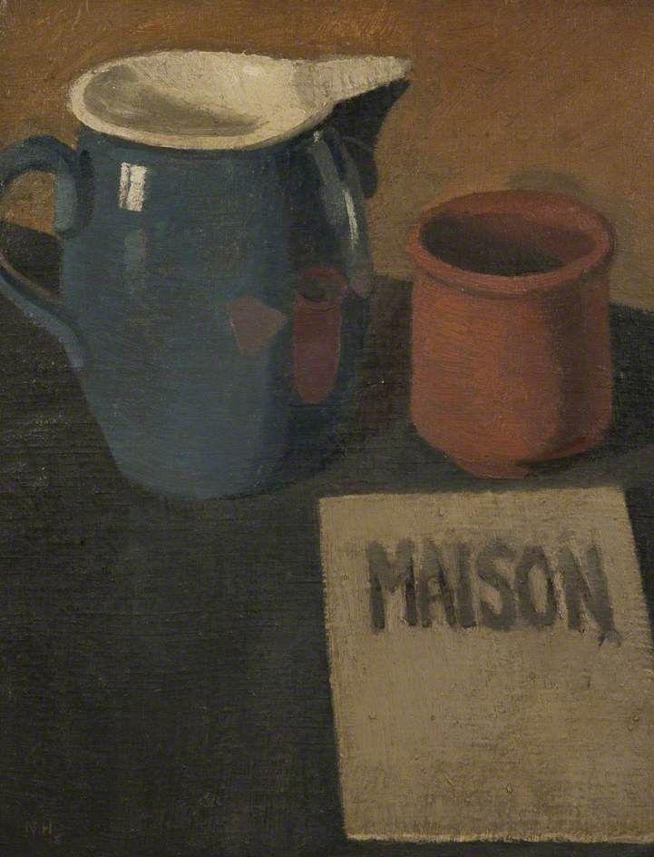 Still Life by Nina Hamnett. Blackburn Museum and Art Gallery.     Date painted: 1918     Oil on canvas, 44 x 34 cm     Collection: Blackburn Museum and Art Gallery.